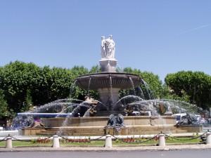 rotonde fontaine aix en provence