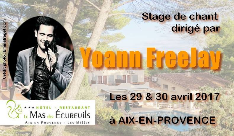 stage de chant par Yoann FreeJay - Concert Intimiste
