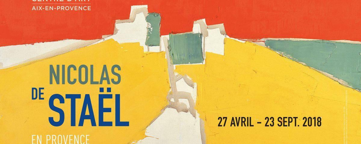 Affiche Nicolas de Stael en Provence - Agrigente