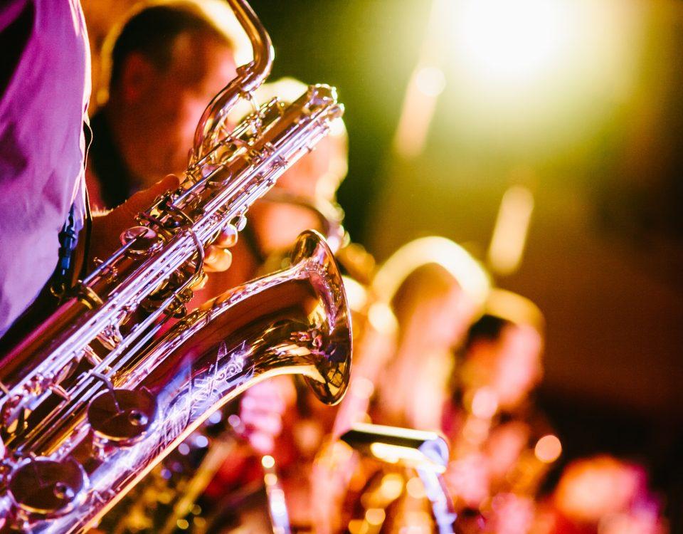Concert art lyrique détails saxophones