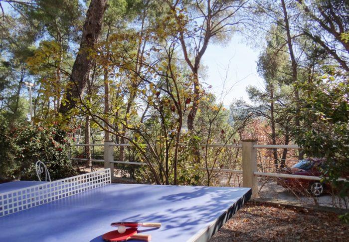 ping pong tennis de table restaurant hotel aix en provence