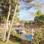 Hôtel Restaurant Mas des Ecureuils Aix en Provence Naure Pinede Piscine