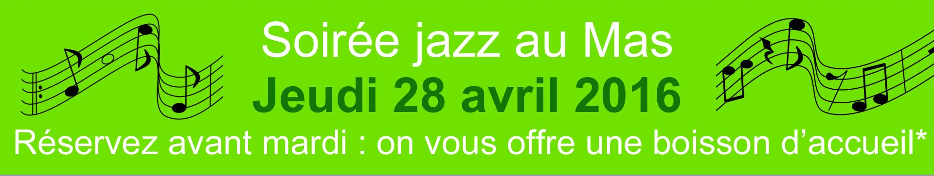 soirée jazz bandeau aix en provence