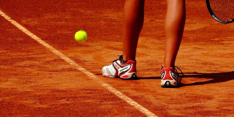 Court de tennis terre battue Open du Pays d'Aix 2018